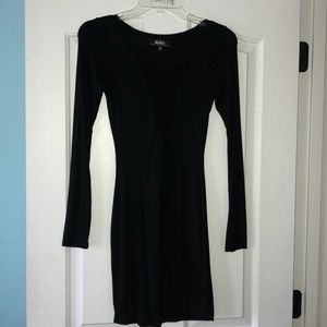 LuLu's black long sleeve dress